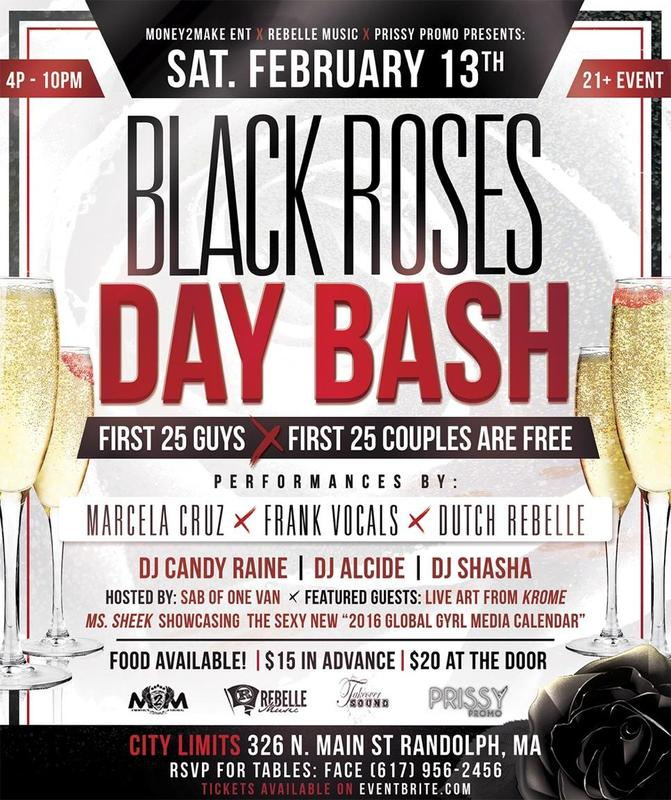 BLACK ROSES DAY BASH