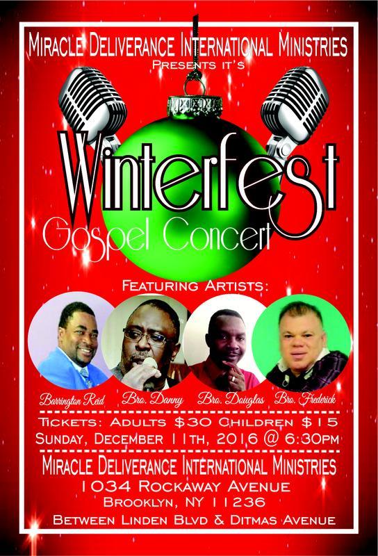 Winterfest Gospel Concert