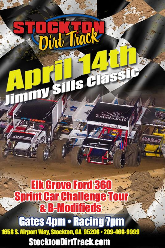 April 14, 2018 - Jimmy Sills Classic featuring Elk Grove Ford 360 Sprint Car Challenge Tour and B-Modifieds