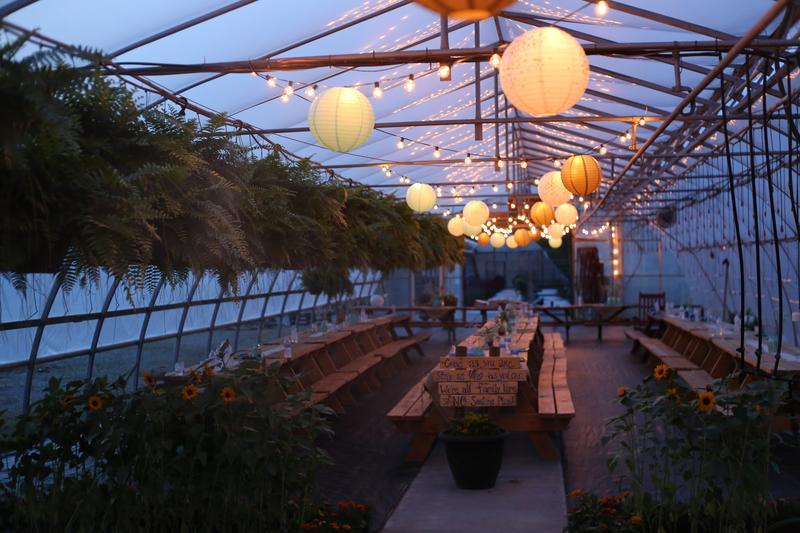 Greenhouse Dinner 2020