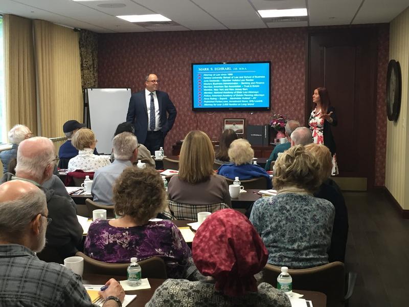 April Client Review / Nursing Home Protection Seminar