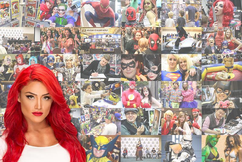 WWE® Eva Marie™ Saturday VIP @  WW Comic Con Columbus 2015