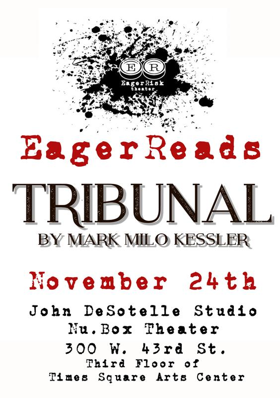 "EagerReads: ""Tribunal"" by Mark Kessler"
