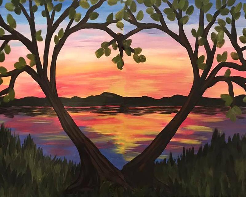 A Thirst For Art at Deep Creek Marina Club {Love at the Lake}