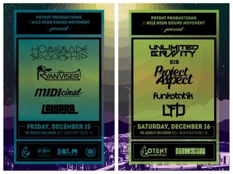 Dew Tour After Party Presented by Potent Productions & Mile High Sound Movement at The Barkley Ballroom