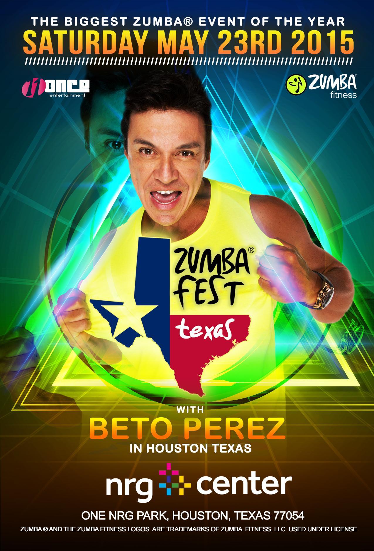 Zumba 174 Fest Texas With Beto Perez Tickets In Houston Tx