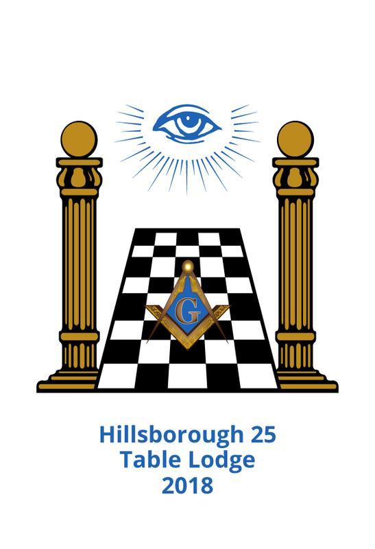 18th Annual Hillsborough 25 Table Lodge