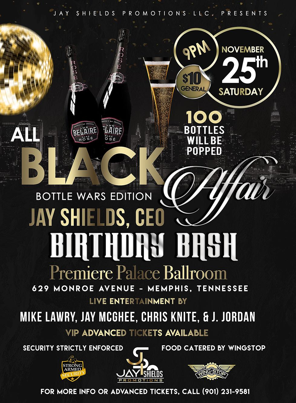 jay shields all black affair tickets in memphis tn united states