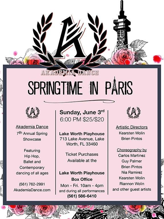 AKADEMIA DANCE presents   Springtime in Paris Tickets in