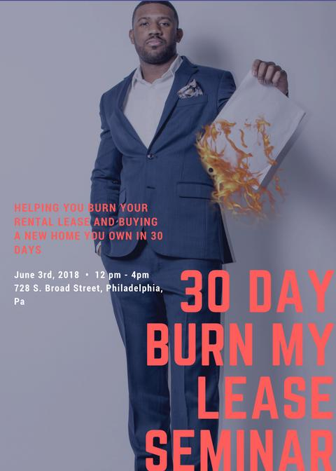 30 Day Burn My Lease Seminar
