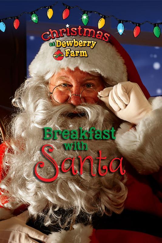 2018 Breakfast with Santa @ Dewberry Farm