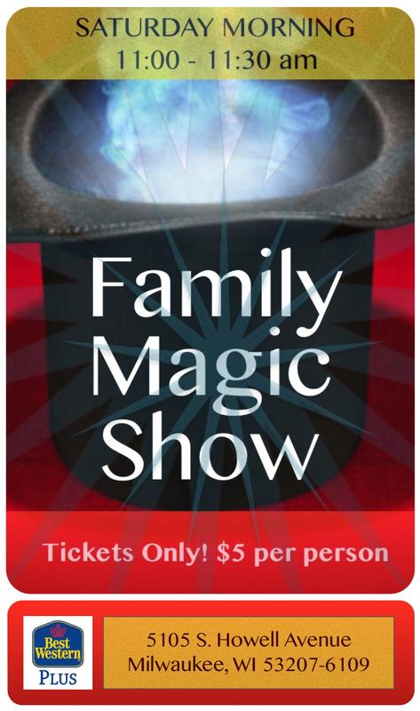 Milwaukee's Monthly Family Magic Show