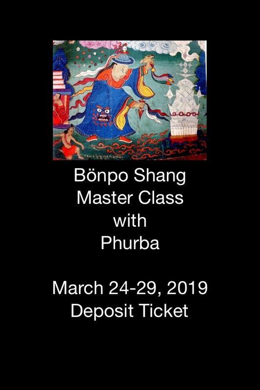 Bönpo Shang Master Class