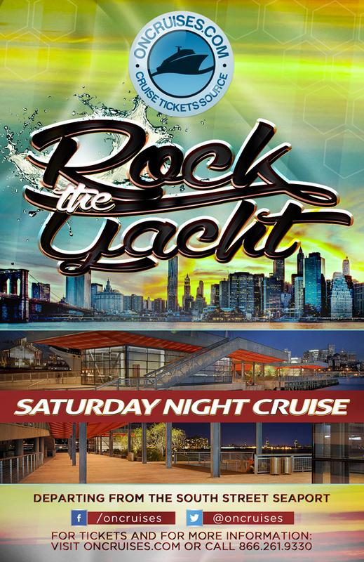 Rock The Yacht Saturday Night Party Cruise