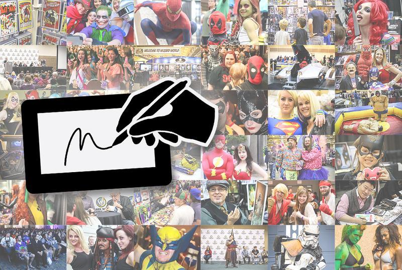 Autographs @ Austin Comic Con 2014  **VALID ON ALL DAYS OF APPEARANCES**