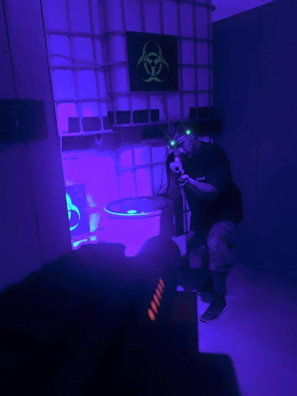 Laser Tag with Lone Wolf Gaming Add-on