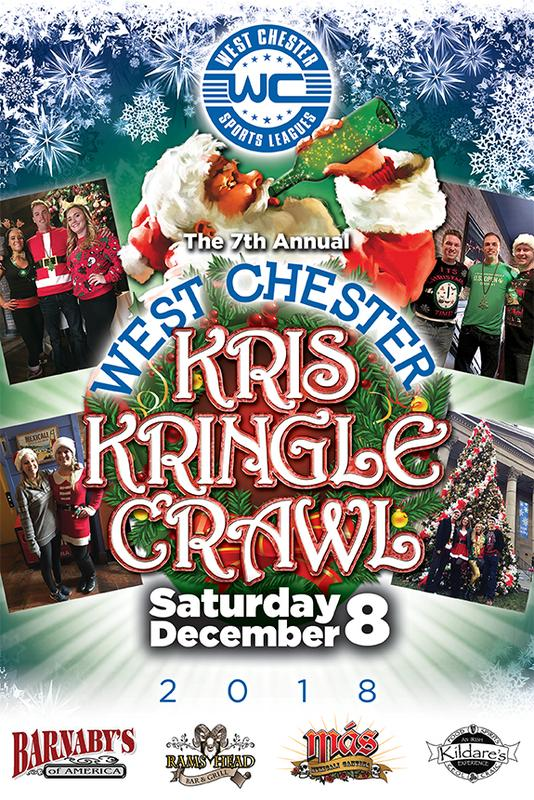 7th Annual West Chester Kris Kringle Crawl