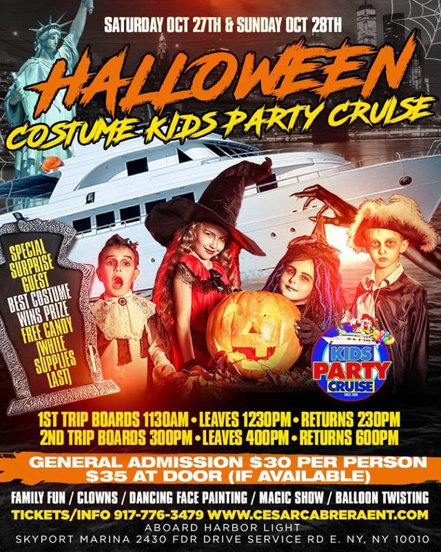 Halloween Costume Kids Party Cruise 3