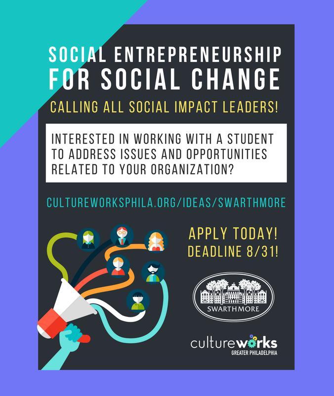 CW x Swarthmore Info Session: Social Entrepreneurs for Change!