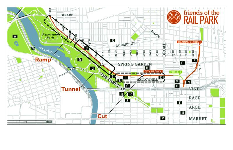 Transforming the Tunnel: The City Branch | 2017 Better Philadelphia Challenge