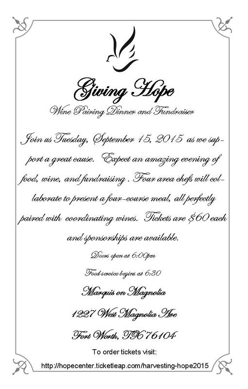 Second Annual Harvesting Hope