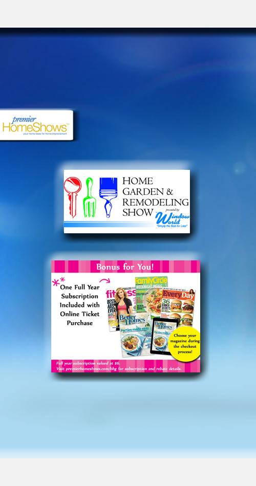 Home Garden Remodeling Show Premier Home Shows Tickets