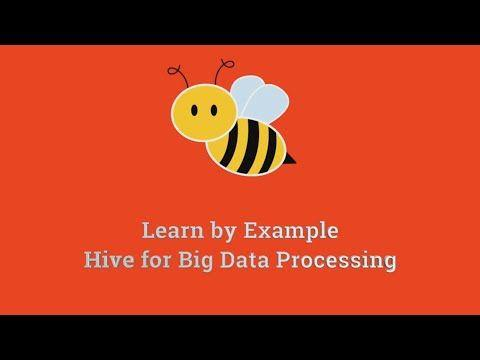 Hive for Processing Big Data