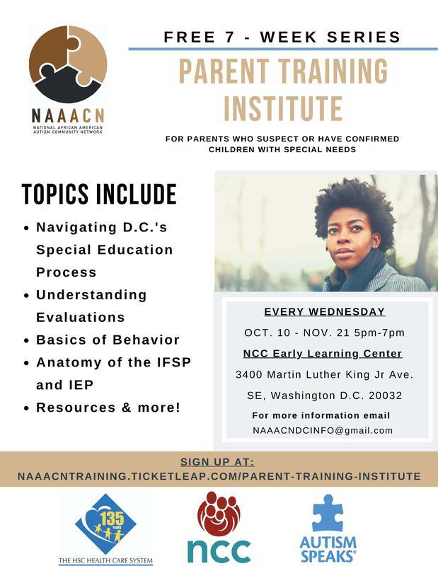 Parent Training Institute Registration