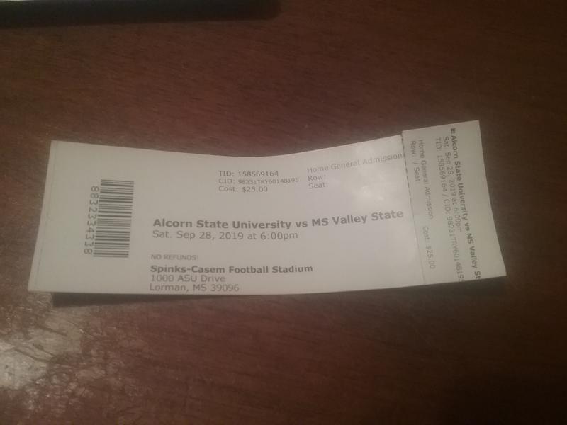 Alcorn State University vs Fort Valley State