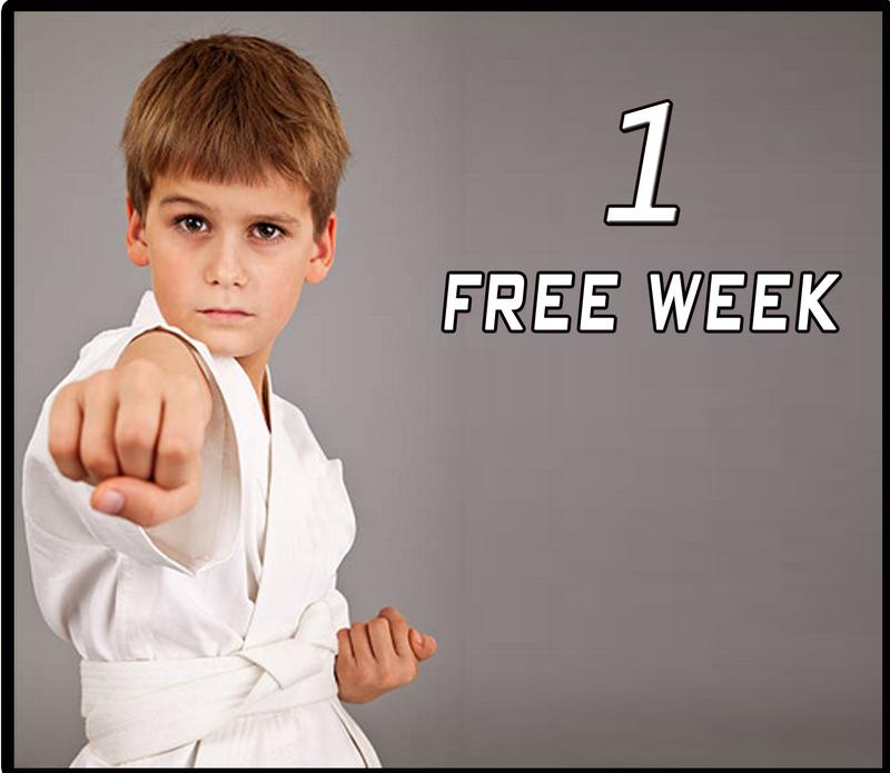 1 Free Week of Martial Arts Classes