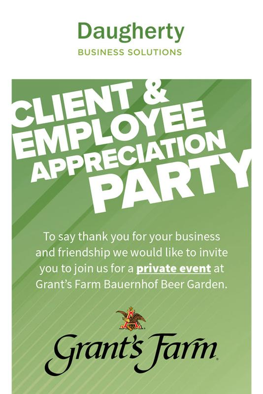 Daugherty Business Solutions Client and Employee Appreciation Party 2018