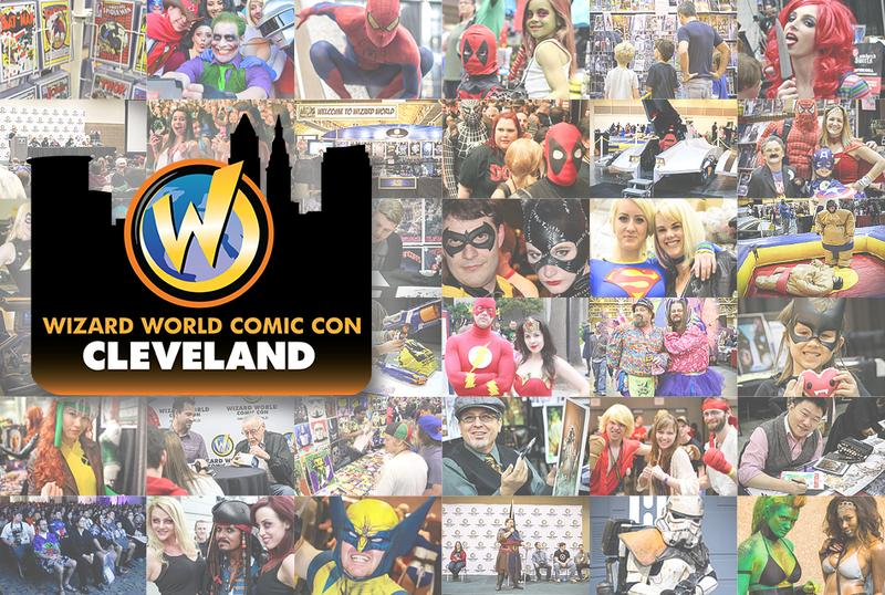 Wizard World Comic Con Cleveland 2016 VIP Package