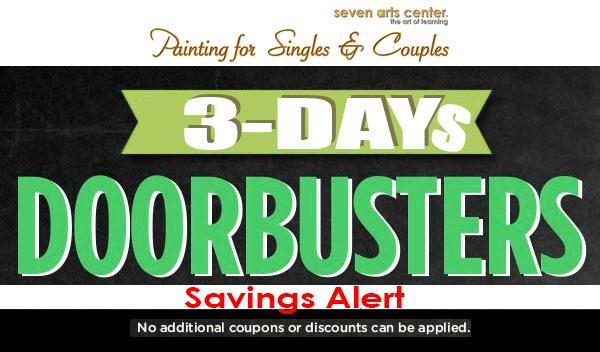 Doorbuster Discount Tickets