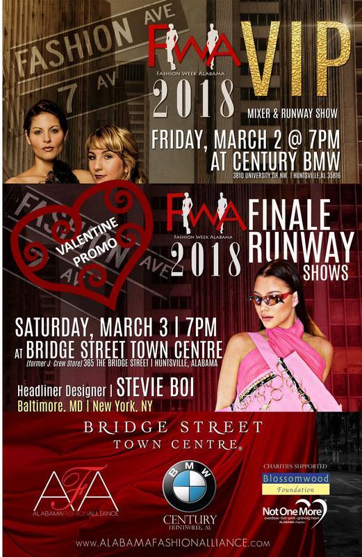 2018 Fashion Week Alabama - Valentine Promo for 2