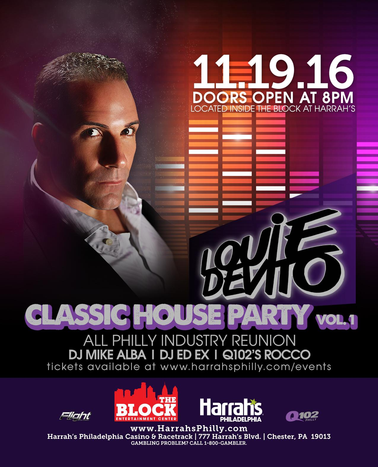louie devito 39 s classic house party vol 1 tickets in