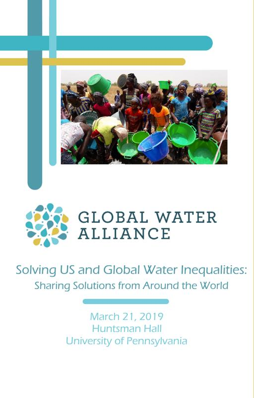 Solving US and Global Water Inequities: Sharing Solutions from Around the World