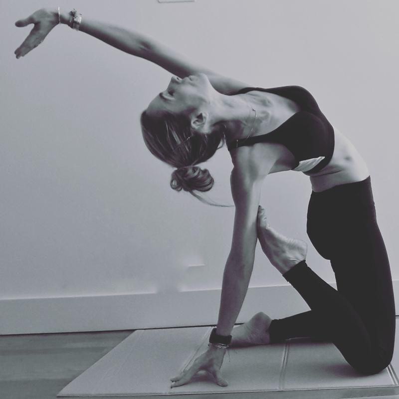 Cours de Pilates avec Agnès Deverre chez Sisley