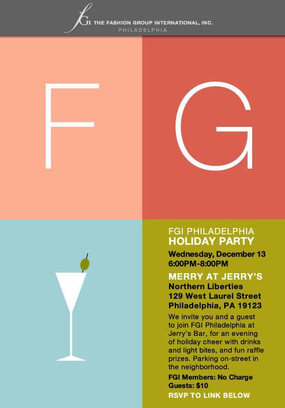Come Toast 2017 at FGI Philadelphia's Holiday Party!