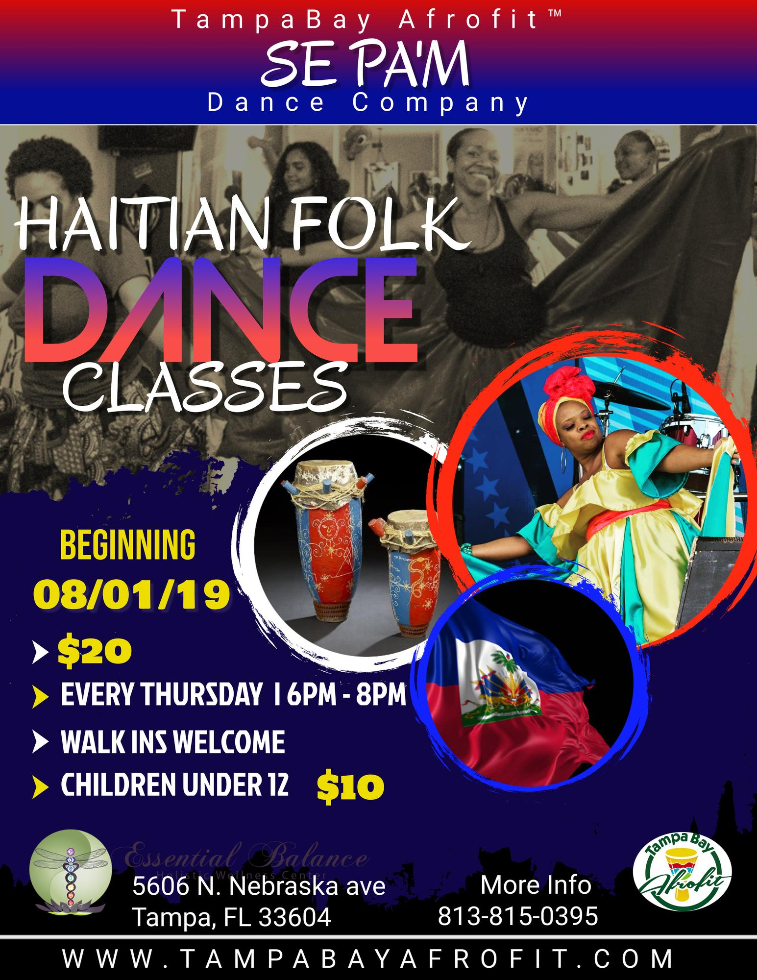 Dancing With Haitians At La Fete De >> Haitian Folk Dance Classes 8 Weeks Cycle Tickets In Tampa Fl