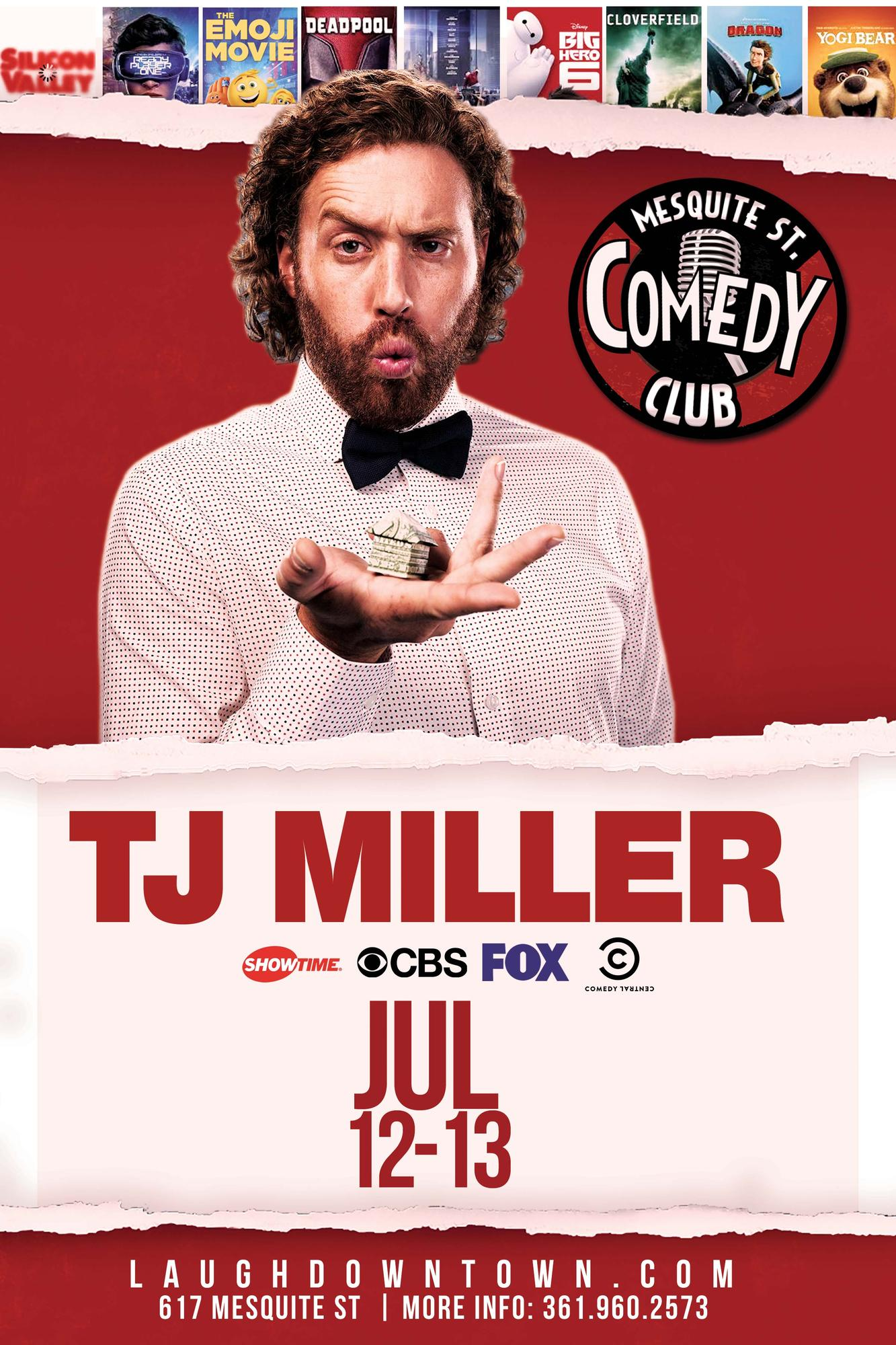 T.J. Miller live (deadpool - transformers ) - 14 JUL 2019