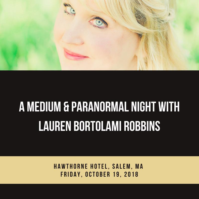 Medium & Paranormal Night, Salem, MA