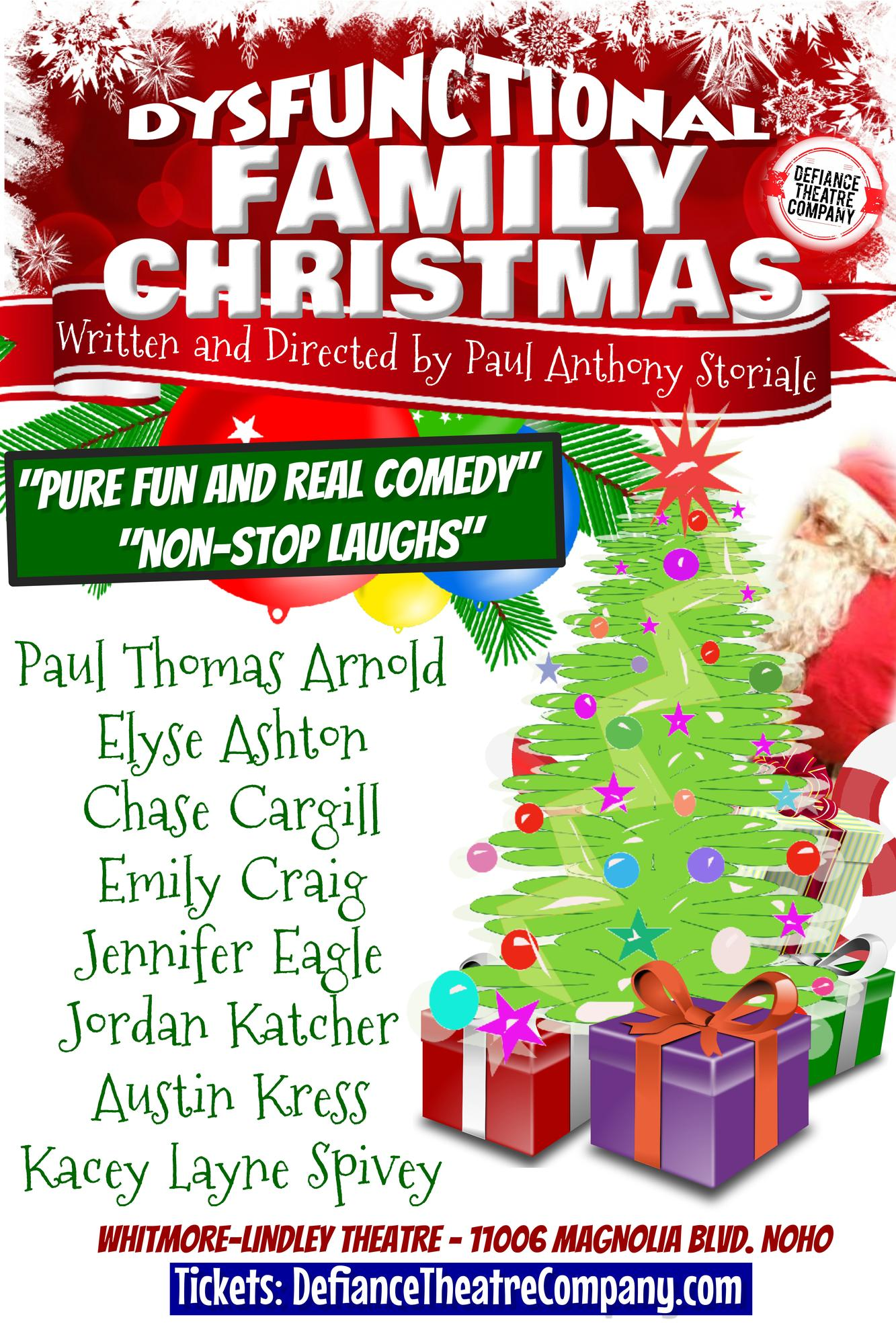Dysfunctional Family Christmas Tickets in North Hollywood, CA ...