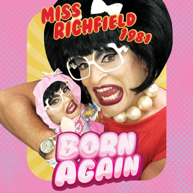 """Miss Richfield 1981 """"Born Again"""""""
