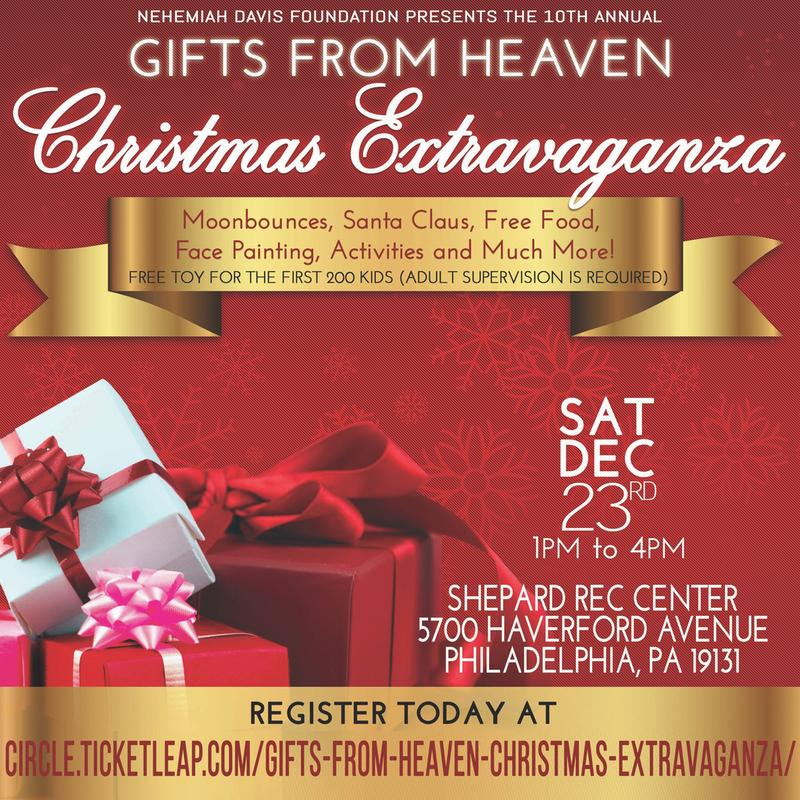 Gifts from Heaven Christmas Extravaganza