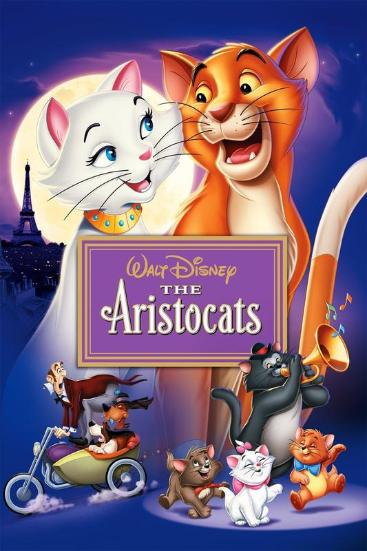 Monday Movie Matinee- Aristocats