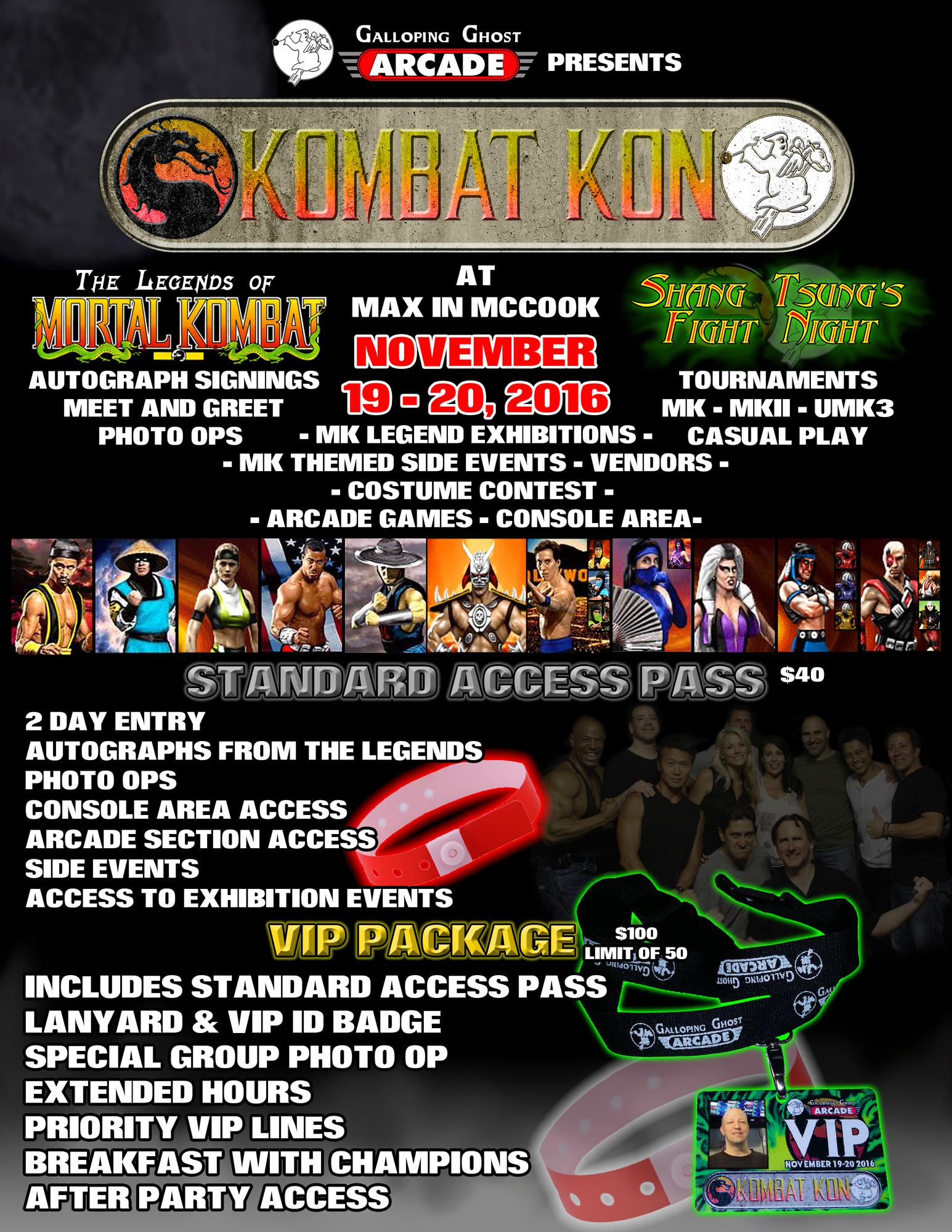 Kombat kon 2016 tickets in mccook il united states kristyandbryce Images