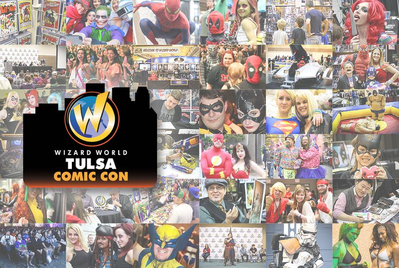 Tulsa Comic Con 2014 Wizard World VIP Package + 3-Day Weekend Ticket
