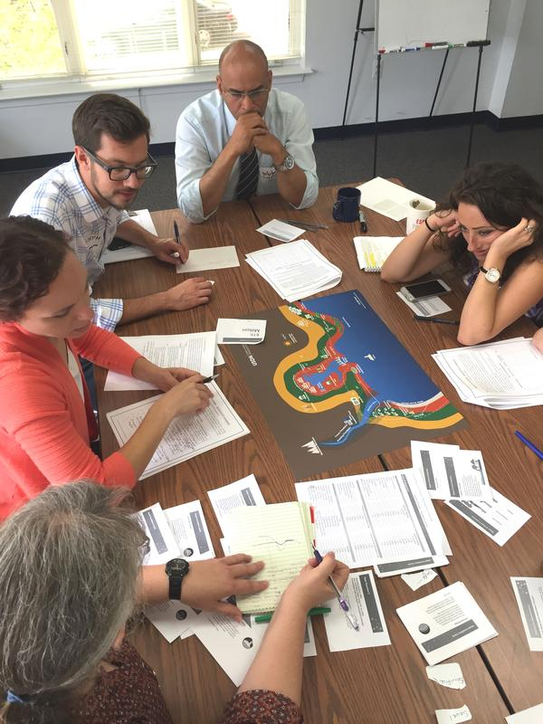 The Game of Floods – An Interactive Workshop