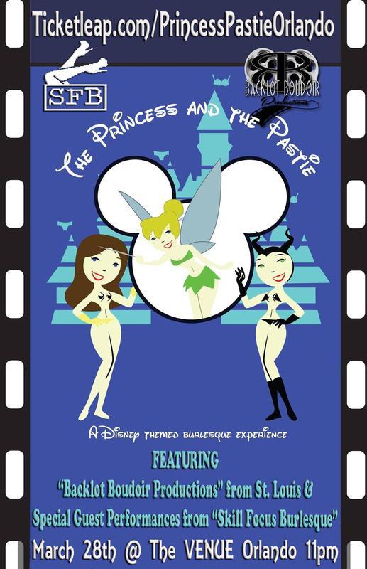 The Princess and the Pastie ORLANDO @The Venue