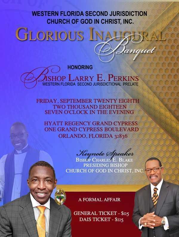 Episcopal Inaugural Celebration Banquet